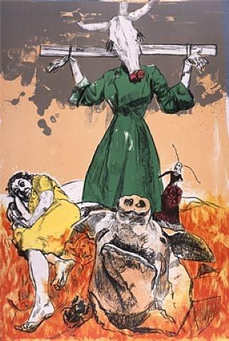 Scarecrow Paula Rego