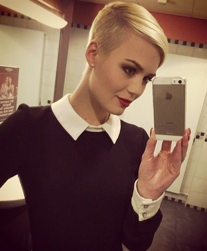 Shaved Pixie Haircut for Fine Hair - Blonde Hairstyles Ideas 2015