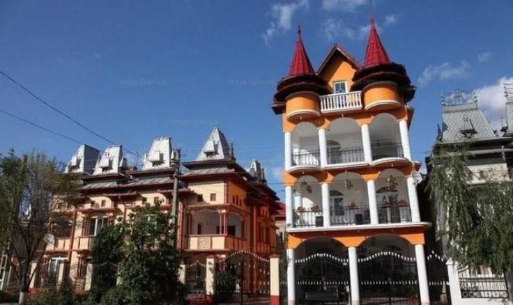 Šokujúce luxusné domy Moldavských    romov