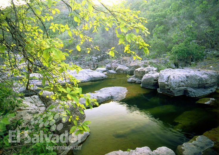 Areas protegidas de El Salvador - Rio Sapo