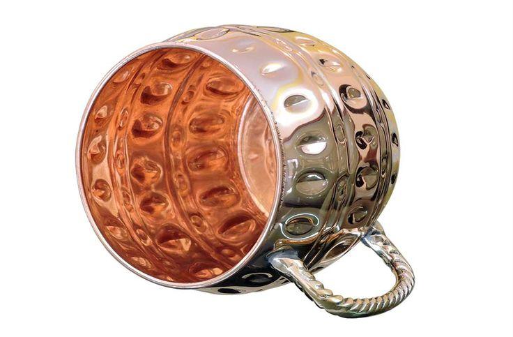 Hammered Copper Moscow Mule Mug| Copper Mule Mugs