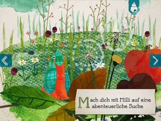 Milli kleine Schnecke Bilderbuch App fuer Kinder iPad iPhone Android (2)