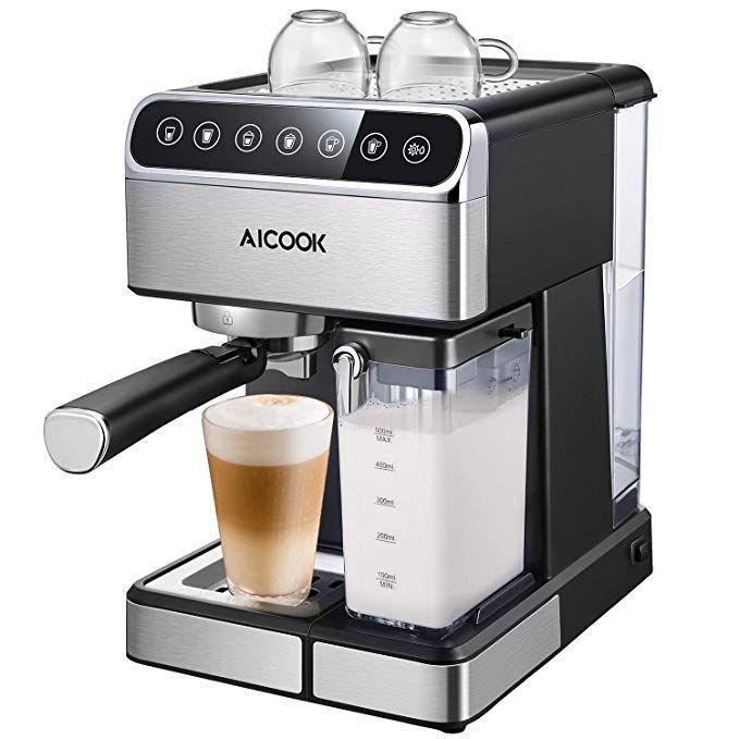 Discount Espresso Machines For The Home In 2020 Latte Maker Cappuccino Maker Coffee Maker