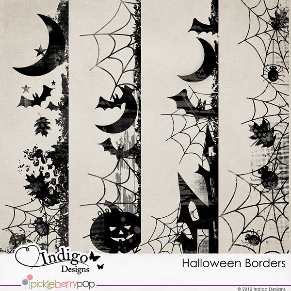 Express your imagination and add unique touch to your pages. Just recolor these borders or clip papers to them for the stunning effect!
