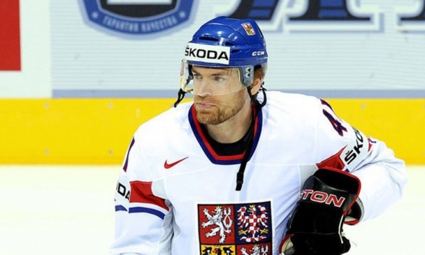 Experienced Martin Škoula (Stanley Cup winner), one of new players in HC Slovan jersey. @HC SLOVAN Bratislava