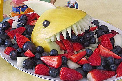 Melonen-Hai, ein sehr schönes Rezept aus der Kategorie Dessert. Bewertungen: 100. Durchschnitt: Ø 4,8.