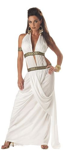 Spartan Queen Costume....if start working out now...i might be able to rock this come Halloween lol