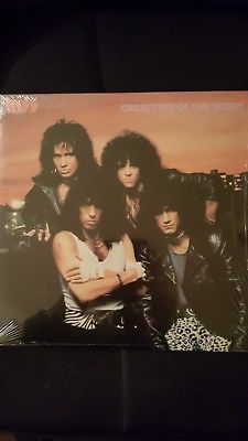 KISS Creatures Of The Night 1982 VERY RARE US Import Vinyl LP *Never Played* 1.1.18