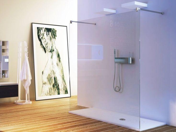 Die besten 25+ Glastür dusche Ideen auf Pinterest | Naturstein ... | {Dusche gemauert modern 72}