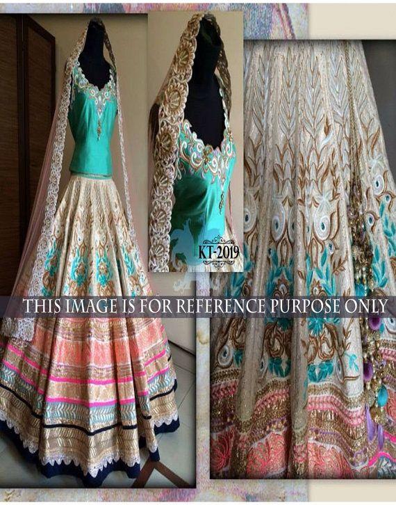 Green Beautifully Designer Wedding Dulhan by FUNBOYSANDGIRLS