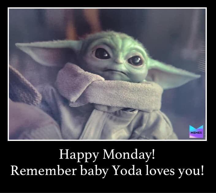 Pin By Susanna Knapp On Baby Yoda The Mandalorian Yoda Funny Yoda Meme Star Wars Baby