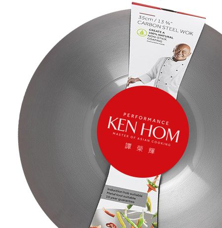 """Lilo launched a new website for Ken Hom Woks:  """"Ken Hom is acknowledged as one of the world's leading experts on authentic Chinese and Asian cooking. Not only is he passionate about using high quality ingredients, but also highly effective cookware and accessories to help give every stir-fry great flavour. He has been developing his own range to meet these needs since 1986."""""""
