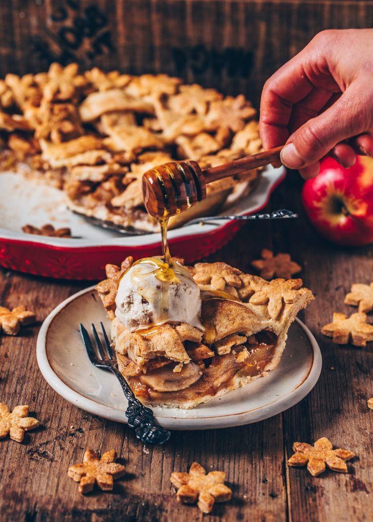 Vegan Apple Pie Easy Recipe With Images Vegan Apple Pie Apple Pie Recipes American Apple Pie
