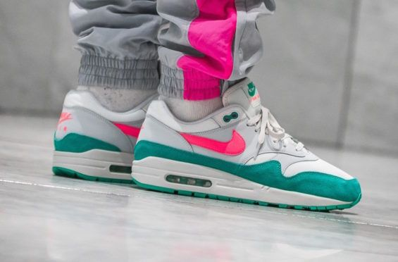 Look Out For The Nike Air Max 1 Watermelon Dr Wong Emporium Of Tings Web Magazine Nike Air Max Nike Sneakers