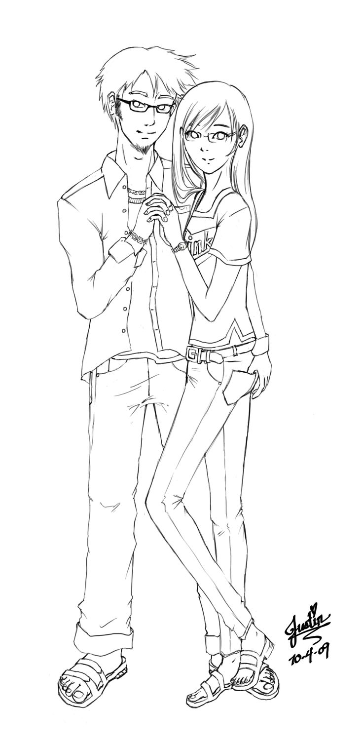 couple coloring pages - Google Search   Doodle~~~~Drawings   Pinterest
