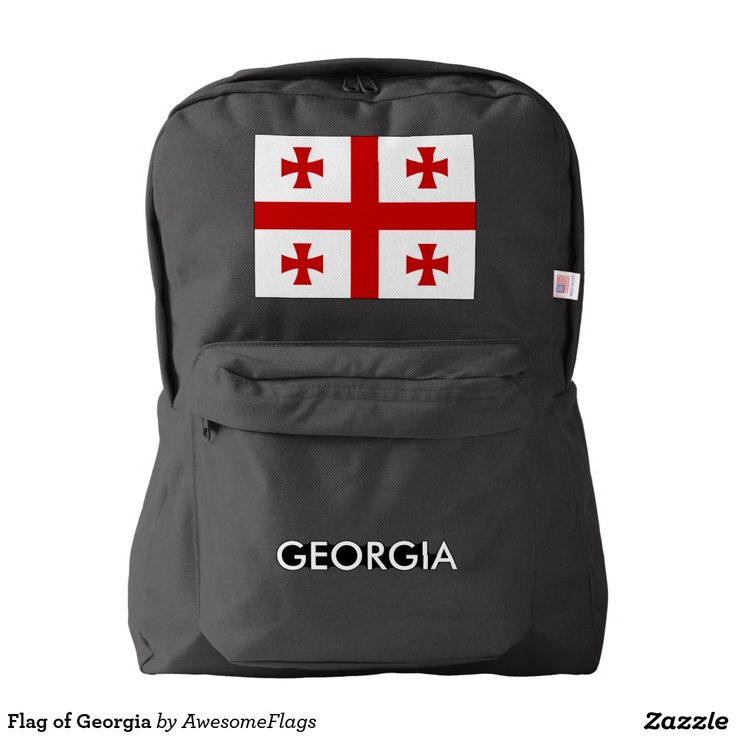 Flag of Georgia Backpack