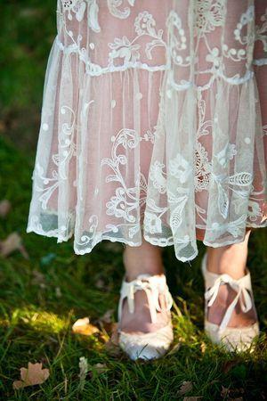 An Original Edwardian Wedding Dress for a Vintage Summer Garden Party Wedding...