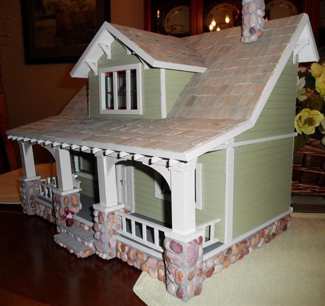 1 2 Scale Bungalow Dollhouse My Dollhouses Mini Doll