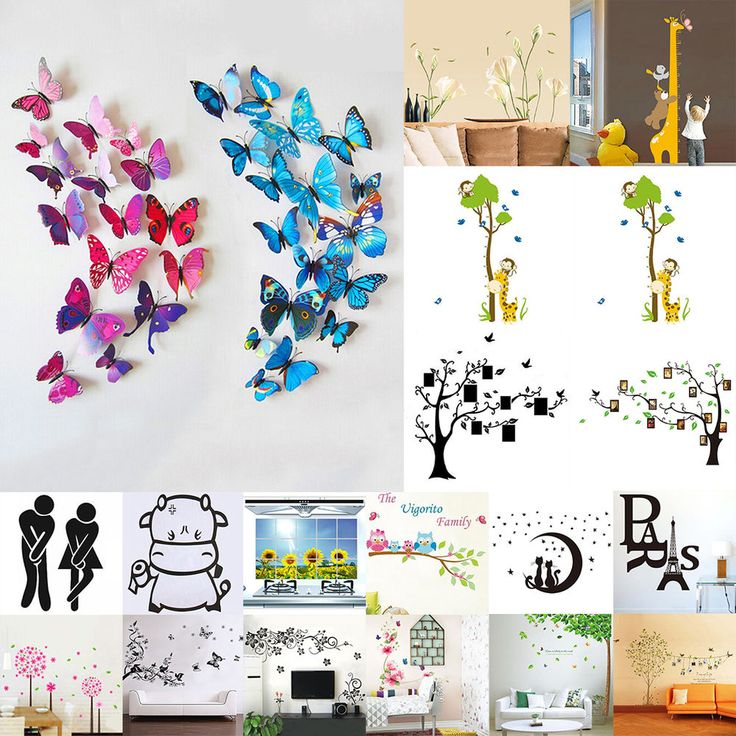 Home Decor  Wall Stickers Decorations Wall PVC Tree Removable Picture