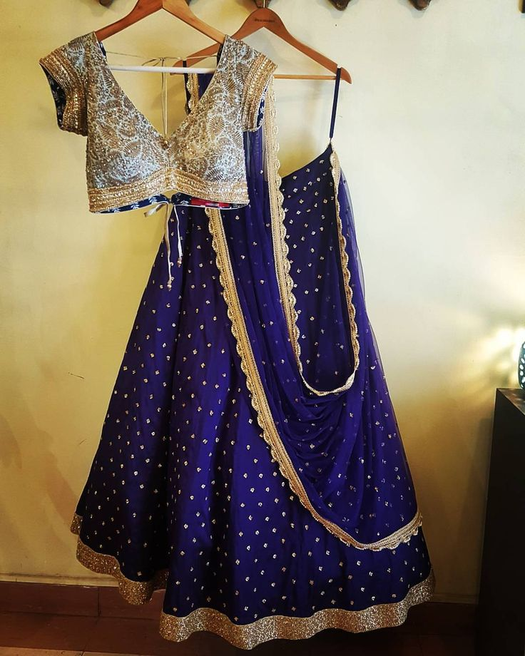 The New Purple lehenga stunning purple shimmer crystal staple ANJALISHARMA bridetobe zardozi golddust studiodiaries 03 January 2017