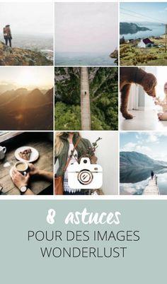 Certaines images capturent notre attention tout de suite.... En particulier les photos de voyage qui transportent: on les appelle les images Wonderlust. Pas facile de créer cet effet. Je vous présente sur mon blog 8 astuces pour s'en rapprocher. Lumière, cadrage, ambiance... Cliquez pour découvrir l'article ou enregistrez l'image pour plus tard!