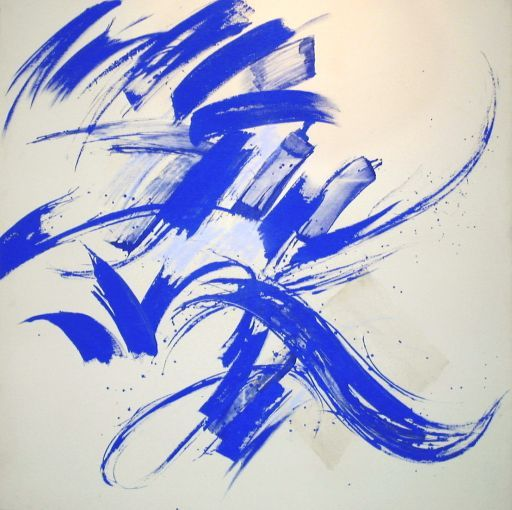 claude mediavilla - Abstract calligraphy