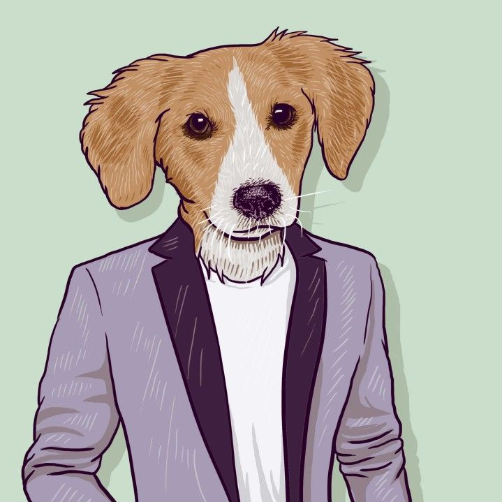 I will draw your pet wearing clothes!<br /> Just send me a photo of your pet, photos of the clothes you would like them to wear or description.<br /> I will create an artwork of your pet with clothes!<br /> I will make a fun and quirky gift or artwork for your home! thank you