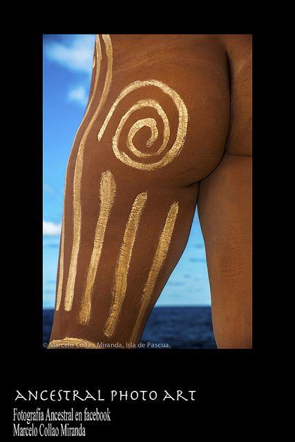 Takona. Pintura corporal ancestral.