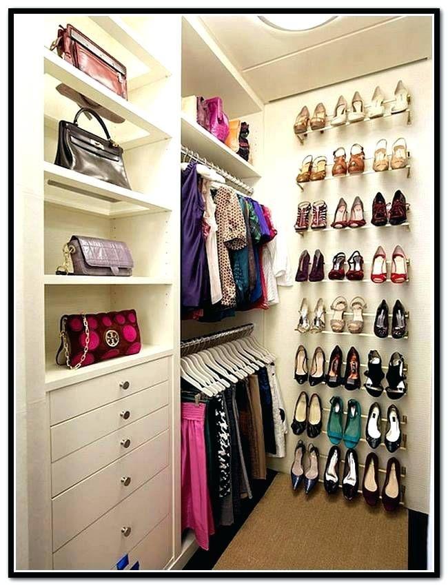 Closet Shoe Organizer Ideas Brilliant Shoe Storage Ideas Small Closet Home Design Ideas Smal Diy Walk In Closet Bedroom Organization Closet Closet Shoe Storage