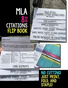 middle school research paper examples mla