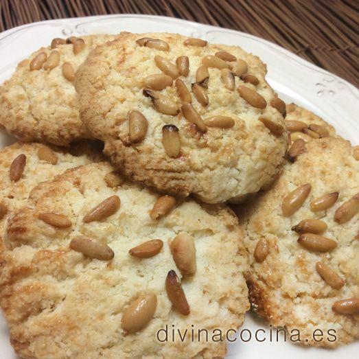 Pastas de piñones » Divina CocinaRecetas fáciles, cocina andaluza y del mundo. » Divina Cocina