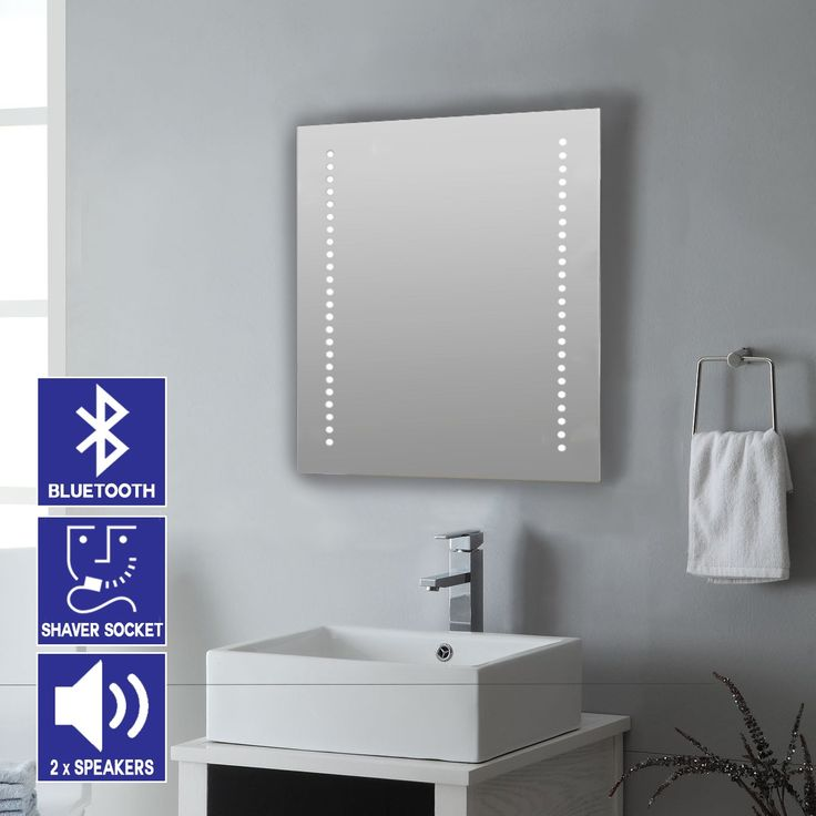 Bathroom Mirror With Lights best 25+ mirrors with shaver sockets ideas only on pinterest