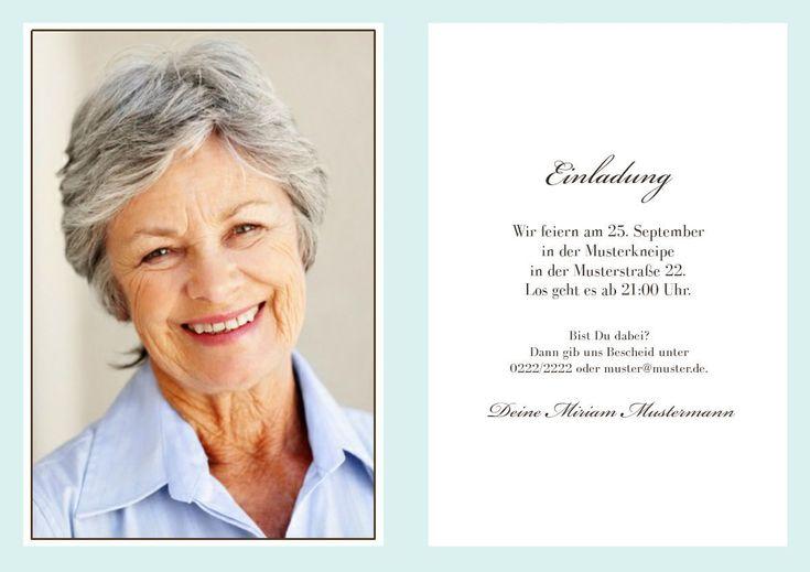 einladungskarten geburtstag : einladungskarten geburtstag 60 - Einladung Zum Geburtstag - Einladung Zum Geburtstag