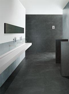 Acabados tipo cemento pulido en distintos formatos. www.via-mar.com