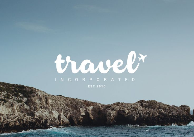 Travel Logo Template ~ Graphics on Creative Market                                                                                                                                                      More