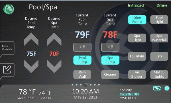 Simple Controls For Automated Pool With Images Pool Pool Care