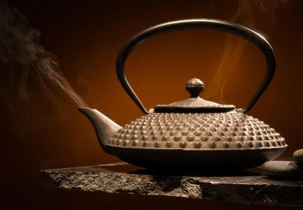 The Japanese cast iron tetsubin pot.  I swear - tea tastes like a ceremony when it is brewed in this one.