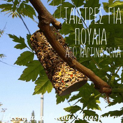 Ιδέες για δασκάλους: Ταΐστρες για πουλιά από χάρτινα ρολά