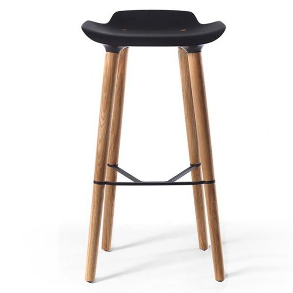 pilot bar stool tabouret haut quinze milan noir with tabouret de bar chez but. Black Bedroom Furniture Sets. Home Design Ideas