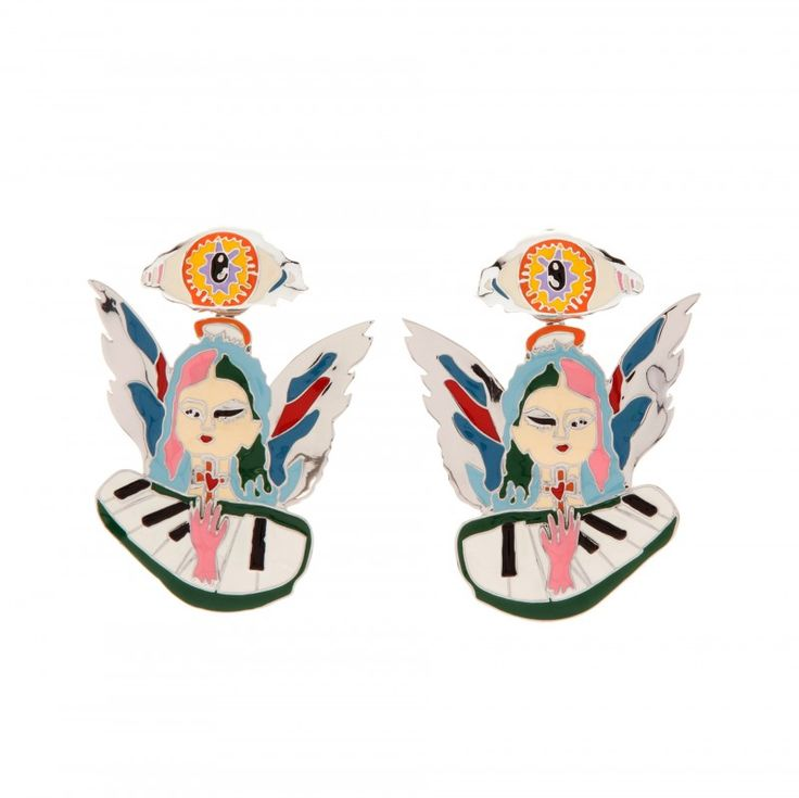 angel earring bimba y lola