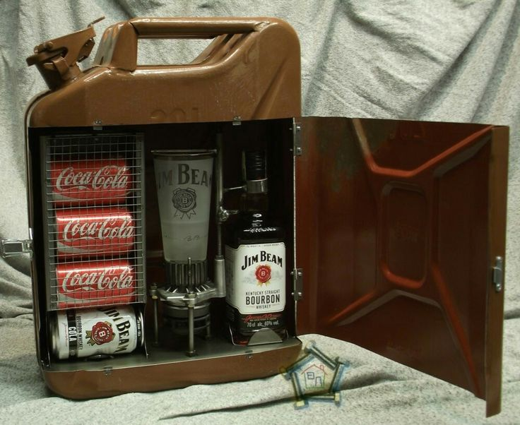 Jerry Can bar Jim Beam
