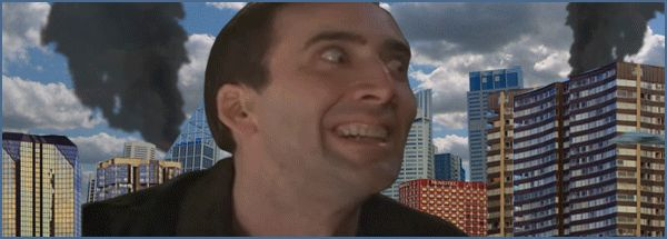 11. The guy who takes rejection very, very personally.  Nicolas Cage destroying stuff GIF.