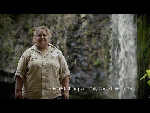 I know just the place: Sonya Jeffrey, Ingan Tours, Tully Gorge - YouTube