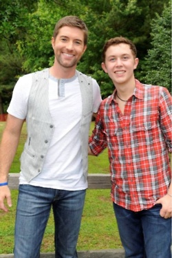 Josh Turner And Scottie McCreery two great guy, with voices to die for!!!