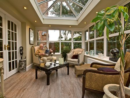 Orangery By Vision Nicely Proportioned Roof Lantern And Transom Windows Sun Room In 2019