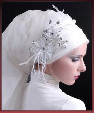 Hijab on wedding