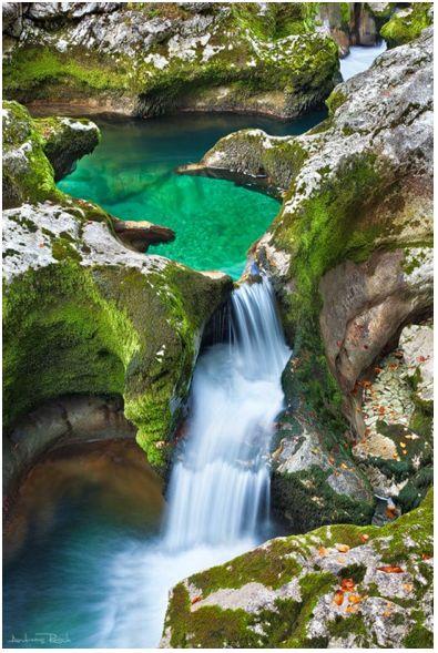 Emerald Pool, The Alps, Austria.