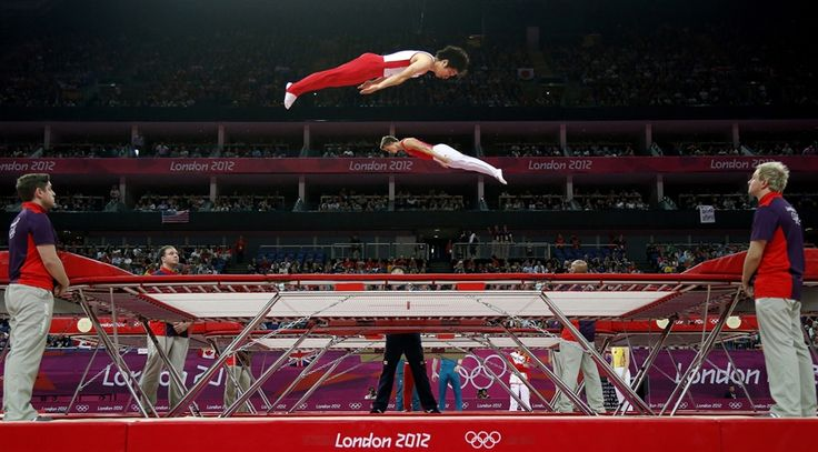 Trampoline, Strangest Olympic sport?