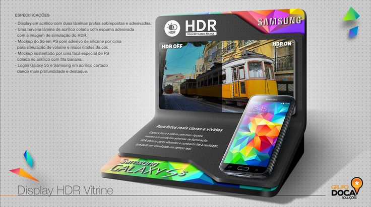 Display Experimentação HDR Galaxy S5 on Behance