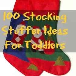 100 Christmas Stocking Stuffers For Toddlers And Older Kids For 2012 - Affordable Gifts